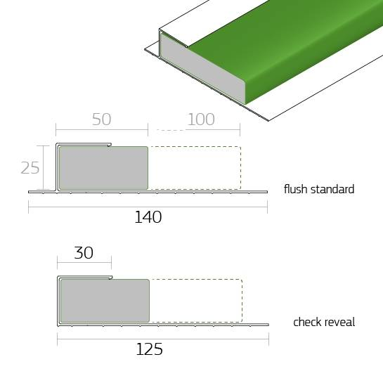 Dacatie Supafix 30 Minute Fire Rated Fire Cavity Barrier for window and door reveals