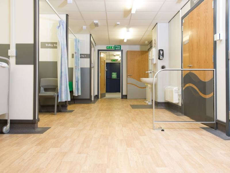 Polyflor's Forest fx flooring is the perfect fit at Hull Royal Infirmary ward