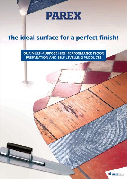 Self-Levelling Underlayment (SLU) Brochure