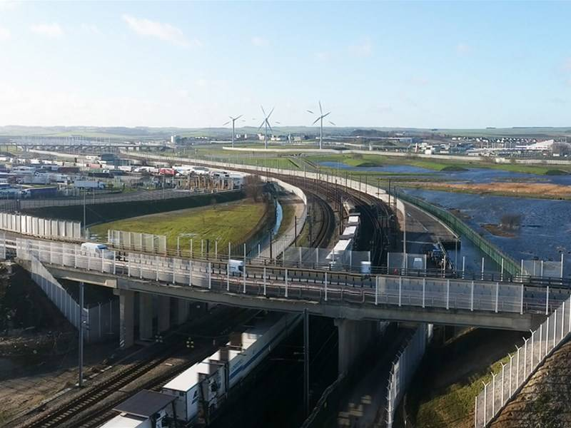 New: Improving perimeter safety and security at the Eurotunnel terminal in Coquelles, Calais