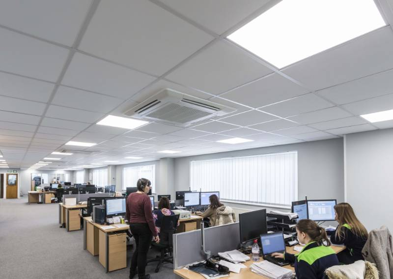 ROCKFON delivers sustainable solutions for refurbished offices