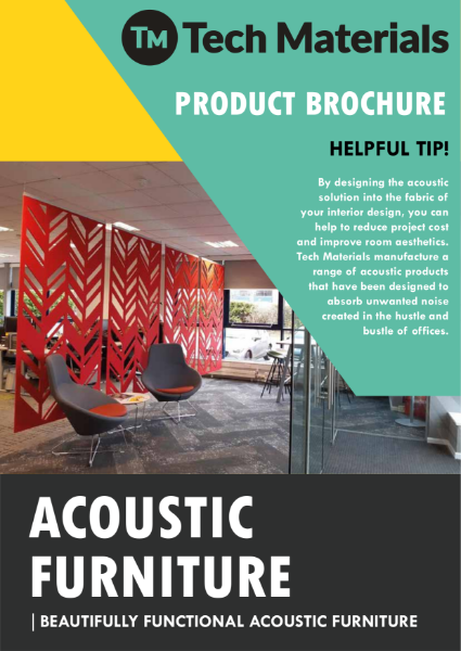 Acoustic Furniture - Acoustic Screens - Acoustic Desk Divider