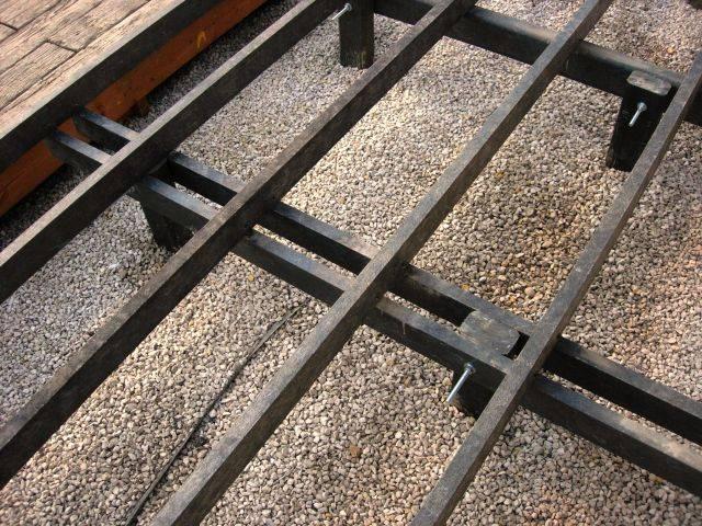 Plas-pro joist 125 x 50 x 3000 mm Decking Sub Frame