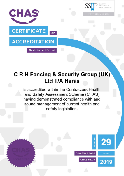 CHAS Safety Accreditation