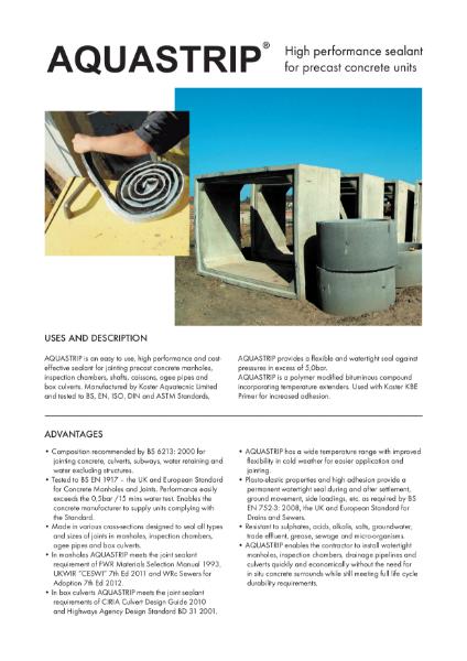 Aquastrip Brochure