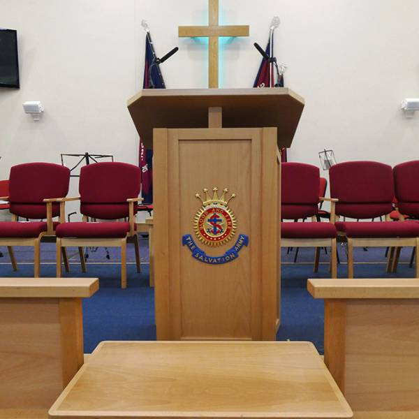 Sheringham Salvation Army Bespoke Church Furniture