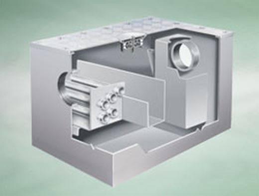 Actimatic grease converter, floor standing