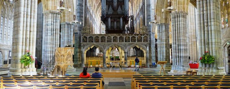 Exeter Cathedral Staging