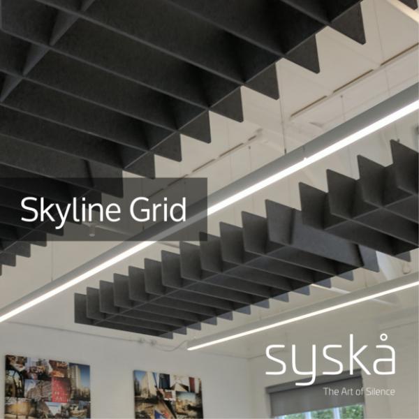 07 - Skyline Grid - Acoustic Ceiling Panel - Technical Datasheet