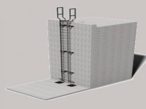 Ascent Accesss Ladders - Mild Steel