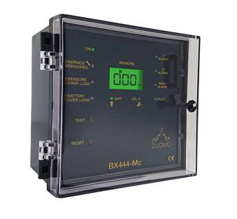 BX444Mc – 4 Channel Gas Detection Controller