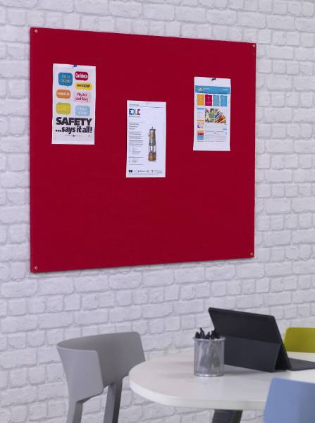 FlameShield Unframed Noticeboard
