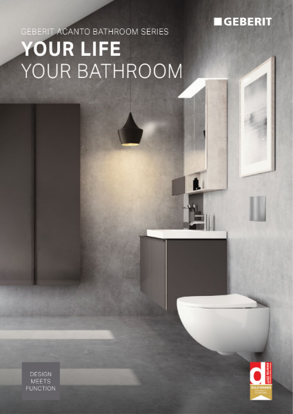 Acanto Brochure Geberit Bathroom Collection