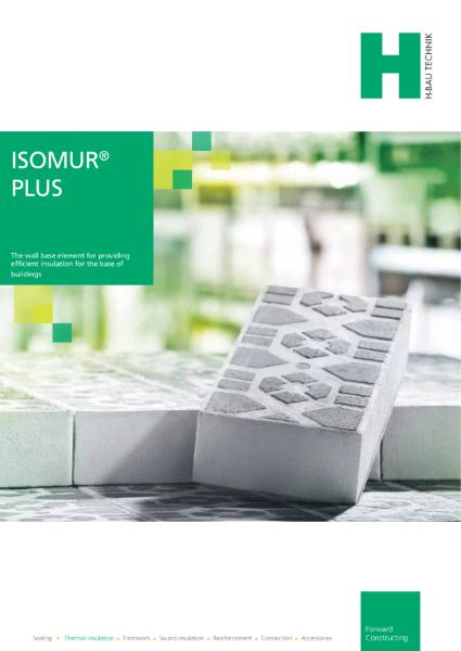 ISOMUR Plus Wall Base Insulation