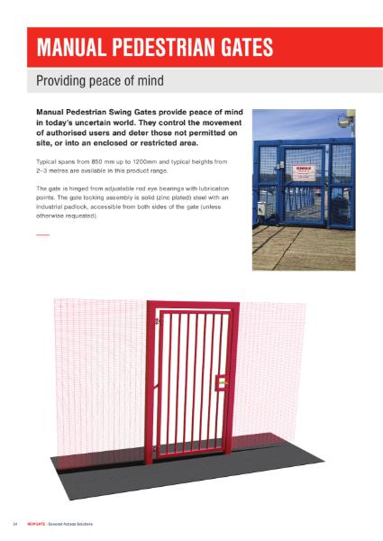 Manual Pedestrian Gates