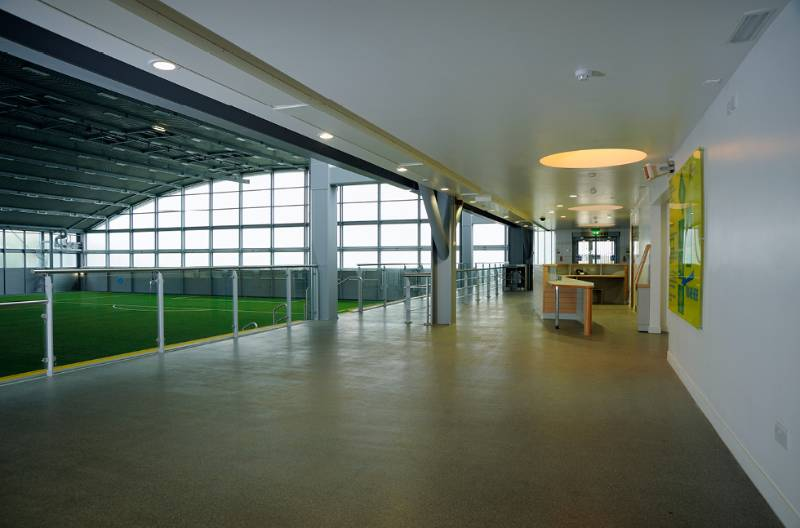 Fast Cure MMA Resins at Football Centre