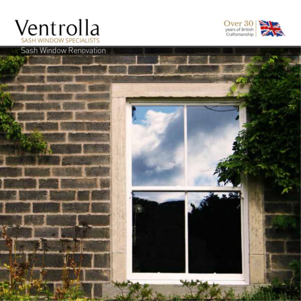 Ventrolla Sash Window Restoration