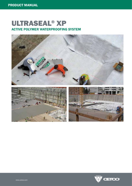 ULTRASEAL® XP - ACTIVE POLYMER WATERPROOFING SYSTEM