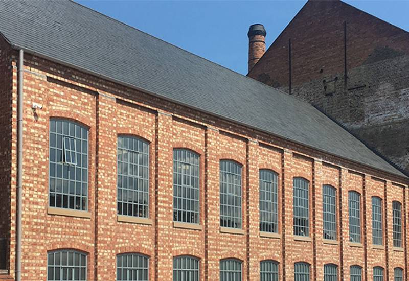 Historic former mill converted into luxury spa