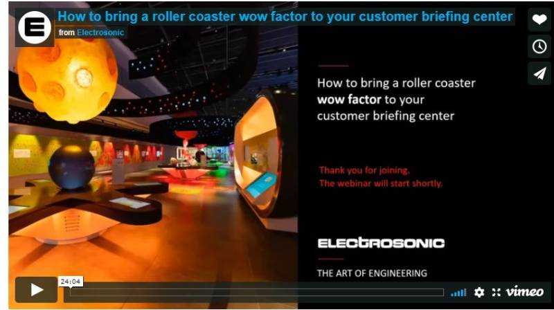 How to Bring a Roller Coaster Wow Factor to your Customer Briefing Centre