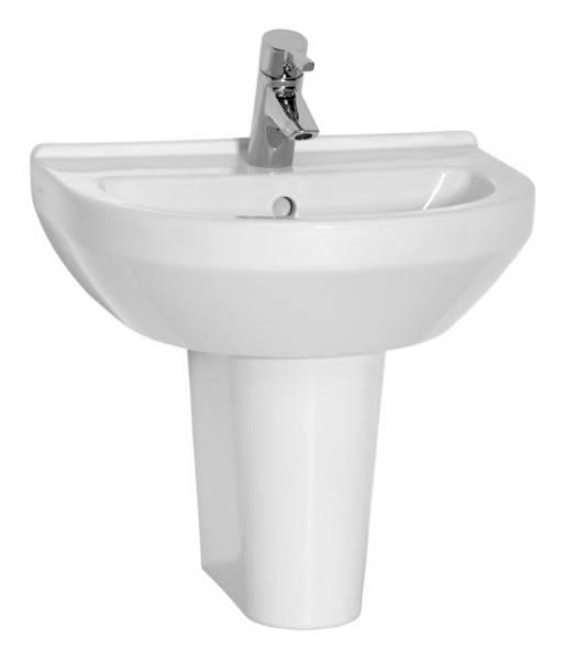 VitrA S50 Washbasin, 50 cm, Round, 5313
