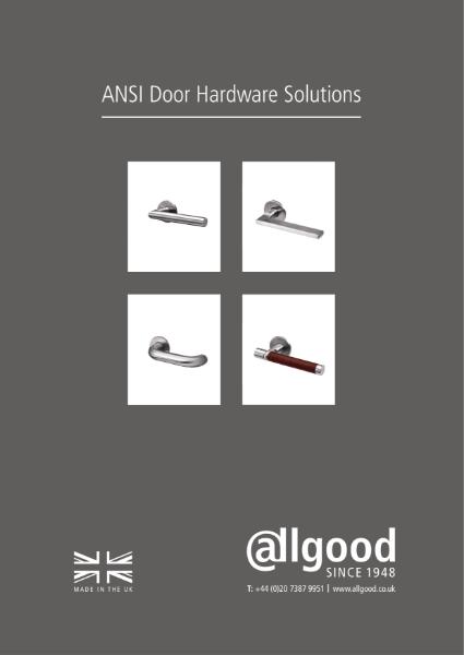 Allgood ANSI Door Hardware Solutions