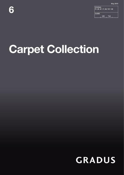 Gradus Carpet Collection Edition 6