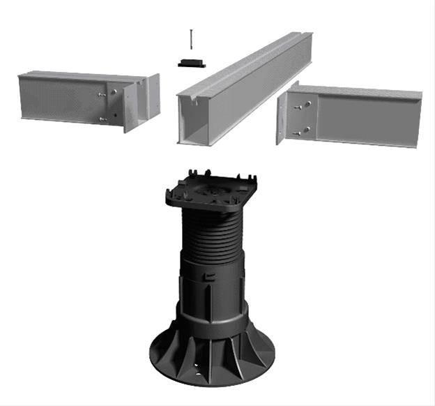 Aluminium Decking Substructure