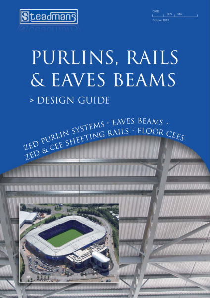 Purlins, Rails and Eaves Beams Design Guide