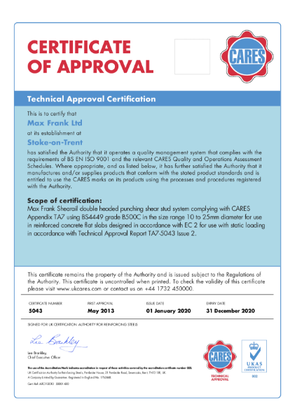 CARES Technical Approval Report TA7 - 5043 (Issue 2)