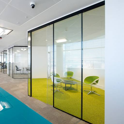 Kinetic Seal SG Partition & Sliding Door -Panel partitions