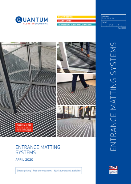 Entrance Matting Systems Specification Guide 2020