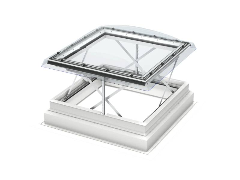 CSP Flat roof smoke ventilation window