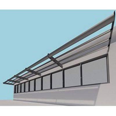 Shadex 260 Horizontal Solar Shading System with tube