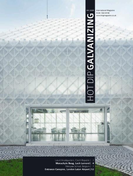 Hot Dip Galvanizing Magazine (HDG) 4/2020