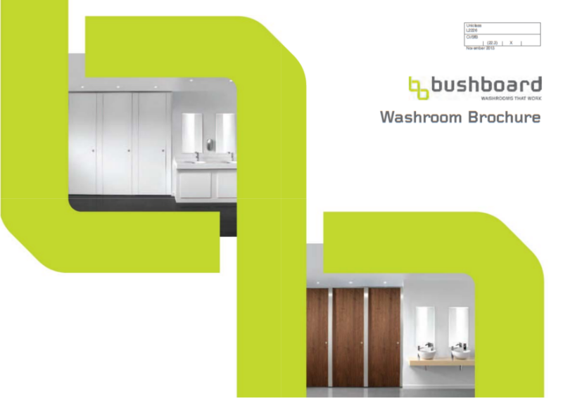 Main Washrooms Brochure