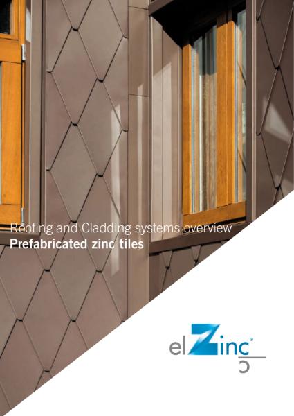 elZinc Shingles Zinc Datasheet