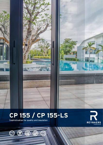 Aluminium Sliding Door System - CP 155