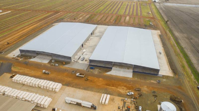 Queensland Cotton Dalby Gin Storage Sheds, QLD