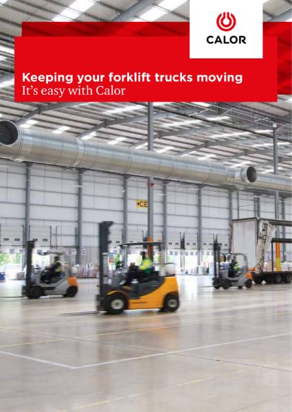 LPG powered Forklift Trucks