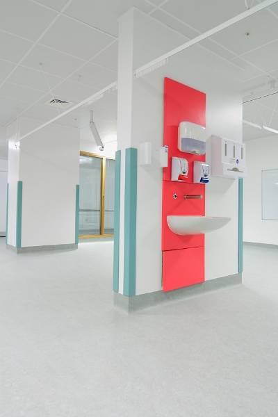fermacell gypsum fibreboard at heart of new Great Ormond Street Hospital building