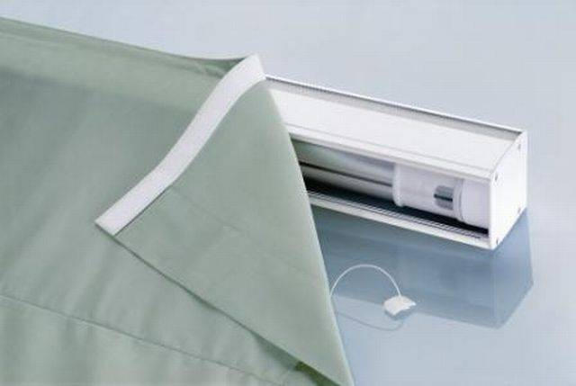 2350 Electrically Operated Roman Blind System