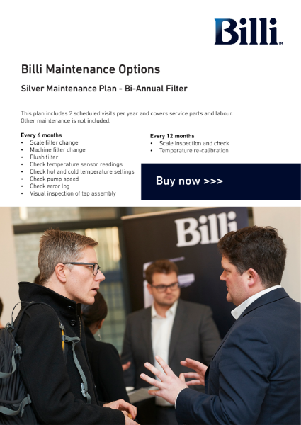 Billi Maintenance & Service Plans