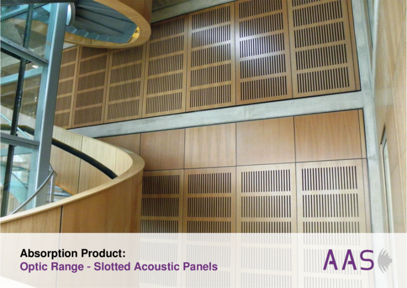 Optic - Slotted Acoustic Panels