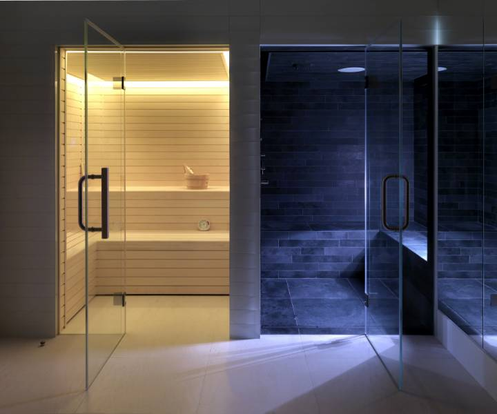 Residential Sauna and Steam Suite B