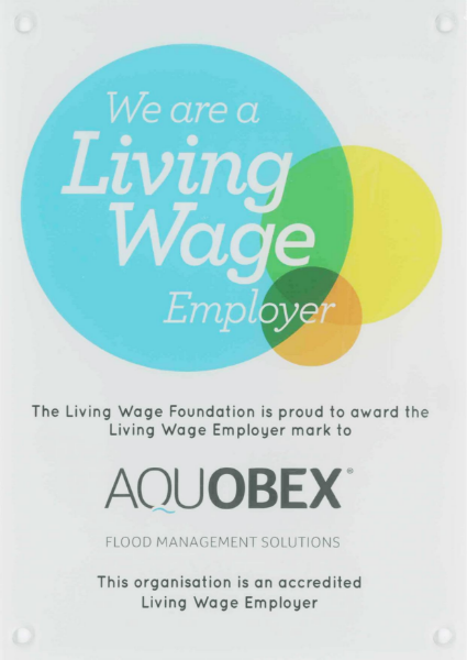Living Wage Certificate