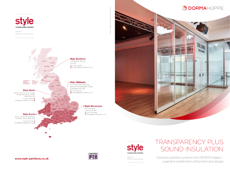 Varfilex Glass - transparency plus sound insulation