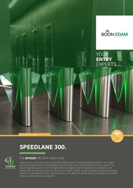 Speedlane 300 Winged Security Lane