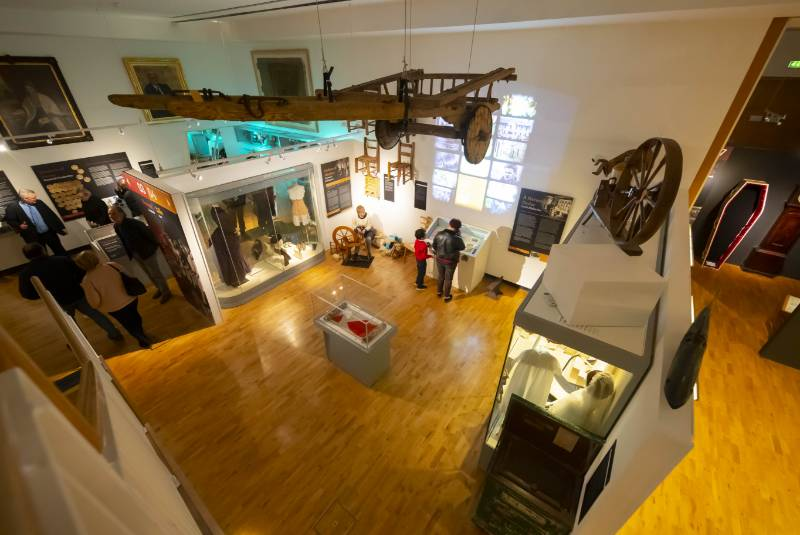 New Tipperary Museum of Hidden History protects its exhibits with MEDITE CLEAR