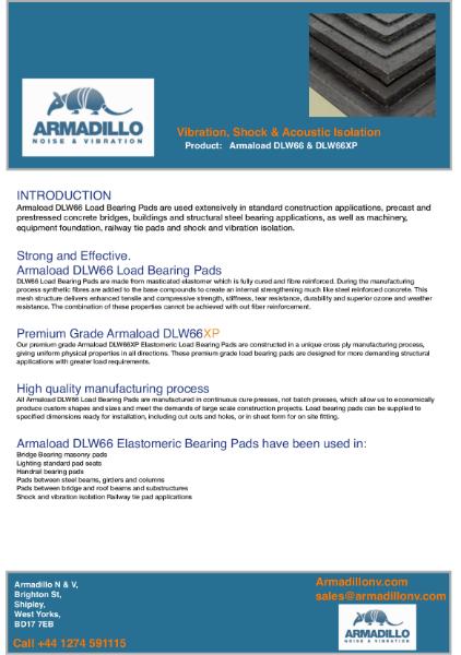 Armaload Bearing Pad - DLW66 & DLW66XP